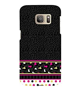 Women's Love Pattern 3D Hard Polycarbonate Designer Back Case Cover for Samsung Galaxy S7 Edge :: Samsung Galaxy S7 Edge Duos G935F