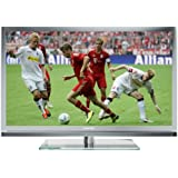 Grundig 46 VLE 8160 SL117 cm (46 Zoll) 3D LED-Backlight-Fernseher (Full-HD, DVB-T/C/S2) silber