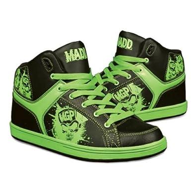 Madd Gear Pro MGP Shreds Shoes Lime Green / Black: Amazon ...