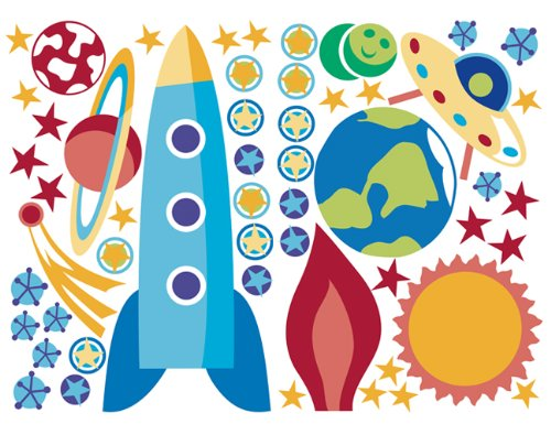 Outer Space Kids Room Decor