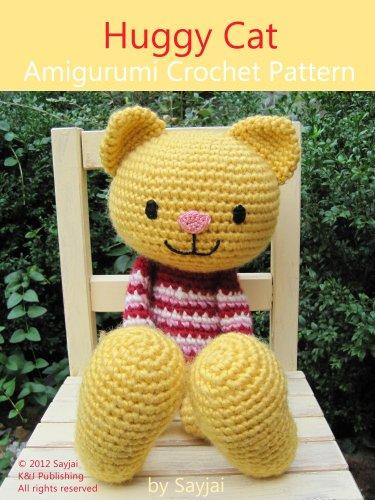 Big Cat Amigurumi : eBook Huggy Cat Amigurumi Crochet Pattern (Big Huggy Dolls ...