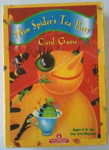 Miss Spider's Tea Party Card Game - 1