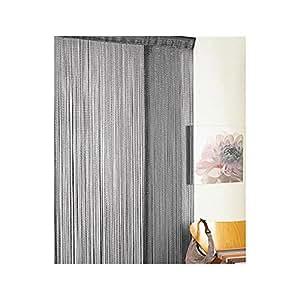 Door Curtain Retro Chic Black Glitter Kitchen Home