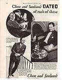 Alexader Woolcott Henry Sleeper Richard Halliburton 1930 ad original clipping magazine photo 1pg 8x10 #Q5275