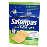 Salonpas Pain Relief Patch x 3