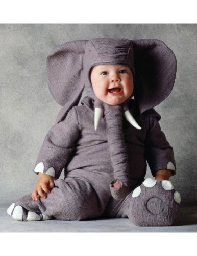 Tom Arma Elephant Toddler Costume 18-24Month - Toddler Halloween Costume