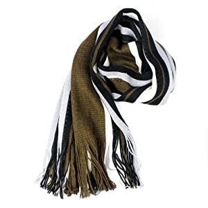 Suppion 1PC Newly Fashion Korean Warm Stripe Cashmeres Style Knitted Man Scarf