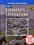 Elements of Literature Introductory Course [Annotated Teacher's Edition] (Tennessee Edition) (0030419743) by Kylene Beers