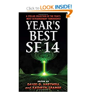 Year's Best SF 14 by David G. Hartwell and Kathryn Cramer