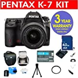 Pentax K-7 14.6 MP Digital SLR Camera with DA