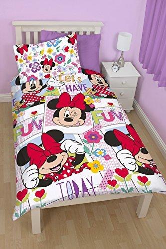 Minnie Mouse Meadow-Set per letto singolo