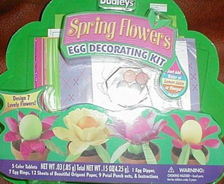 Dudley's Spring Flowers Egg Decorating Kit