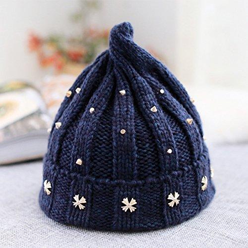 lafflusso-di-persone-rivetti-sharp-cap-uomini-e-donne-punta-del-capo-wild-wild-knit-hat-warm-keep-ca