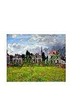 Especial Arte Lienzo Houses at Argenteuil Multicolor