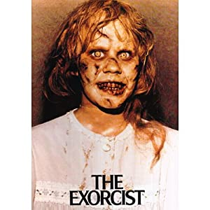 Amazon.com: Exorcist (Linda Blair Scary Face) Movie Poster Print - 24 ...