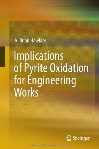 Implications Of Pyrite Oxidation For Engineering Works