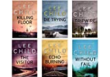 Lee Child Jack Reacher Collection 1-6 - The Killing, Die Trying, Tripwire, The Visitor, Echo Burning and Without Fail, First 6 Books in the Jack Reacher Series Lee Child