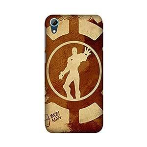 HTC Desire 826 Designer Printed Covers (HTC Desire 826 Back Cover) - Superhero Ironman