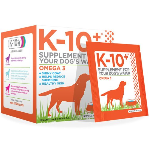 K-10+ Supplements For Your Dog'S Water Omega 3 - 28 Count