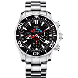 Omega Men's 2569.52.00 Seamaster 300M Racing Automatic Chronometer Chronograph Watch