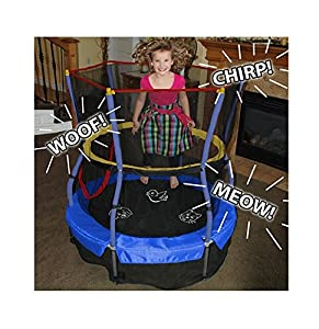 "Skywalker Bounce-N-Learn Trampoline, 55"" Round"