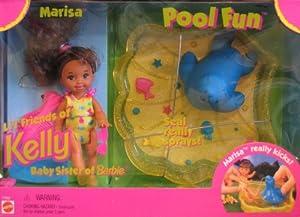 Barbie Kelly Pool Fun Marisa Doll Playset Marisa Li 39 L Friend Of Kelly Doll 1996