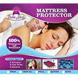 Mattress Protector - Queen Size - Waterproof & Hypoallergenic - Protects Against Dust Mites, Allergens, and Bacteria - Premium Fitted Design to Cover Your Mattress - 10 Year Warranty - Money Back Guarantee