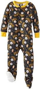 Pittsburgh Steelers Baby Blanket Sleeper - Black from Pittsburgh Steelers