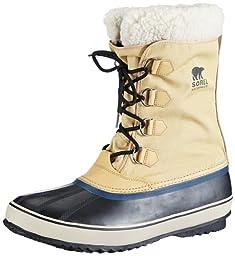 Sorel Men\'s 1964 Pac Nylon Snow Boot, Curry/Black, 9.5 M US