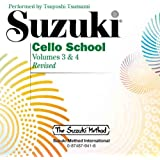 Suzuki Cello School, Volumes 3&4: Performed by Tsutsumi & Leonard