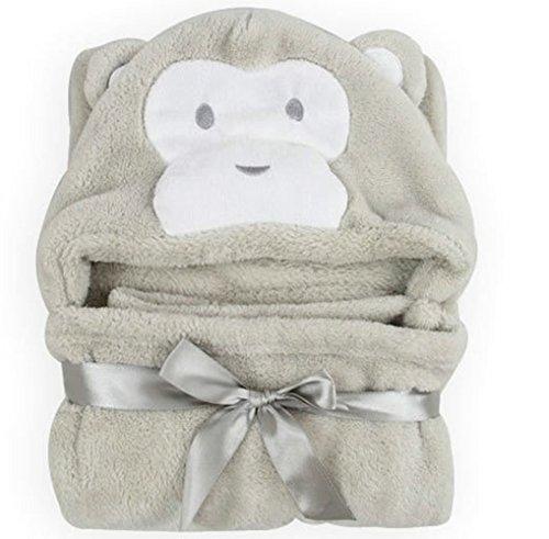 feibi-sherpa-throw-blanket-plush-fluffy-3030-inch-for-baby-grey