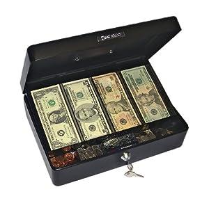 PM Company 997551 Spacious Size Cash Box