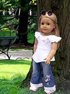 Jeans Set For American Girl Doll Clothes