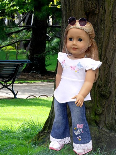 Jeans Set For American Girl Doll Clothes Amazon.com