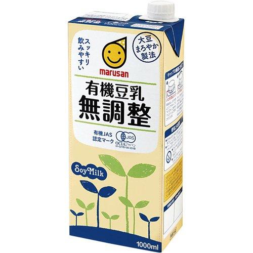 マルサンアイ 有機豆乳 無調整 1000ml