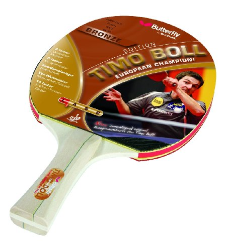 Butterfly - Racchette da ping pong TIMO BOLL, colore: Bronzo