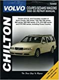 img - for Volvo Coupes, Sedans, and Wagons, 1990-98 (Chilton's Total Car Care Repair Manual) book / textbook / text book