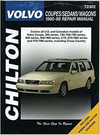 Volvo Coupes, Sedans, and Wagons, 1990-98 (Haynes Repair Manuals)