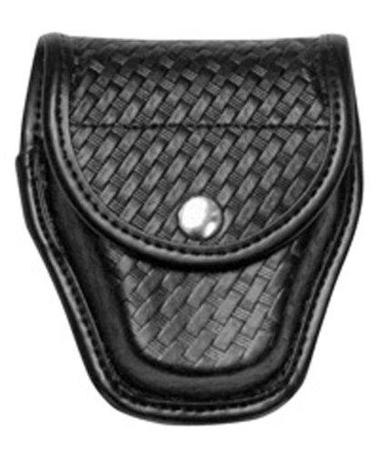 Bianchi Accumold Elite Chrome Snap 7917 Double Cuff Case (Basketweave Black)