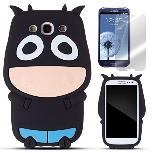 semoss-2-in-1-set-3d-lovely-cow-mucca-custodia-silicone-cover-per-samsung-galaxy-s3-i9300-i9305-prot