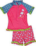 Playshoes 460272 - Mono para niñas, color mehrfarbig (original 900), talla 6-9 meses (talla fabricante:74/80 (6-12m))