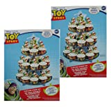 Disney Pixar Toy Story Cupcake Stand Kit (2 Pack) # 1510-7771-2pk