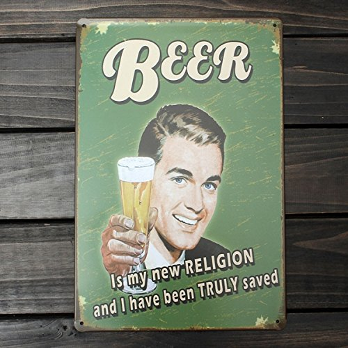 Beer Tin Sign Vintage Metal Plaque Poster Bar Pub Home Wall Decor 4