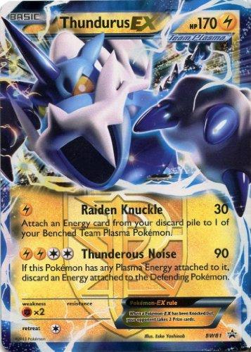 Pokemon - Thundurus Ex Hp 170 Bw81 Promo - 1