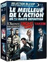 Le Meilleur de l'action en haute définition : L'agence tous risques + Night and Day + Taken [Blu-ray]