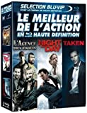 echange, troc Le Meilleur de l'action en haute définition : L'agence tous risques + Night and Day + Taken [Blu-ray]