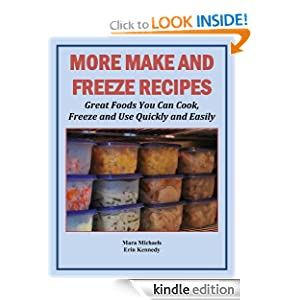 More Make and Freeze Recipes (Food Matters)