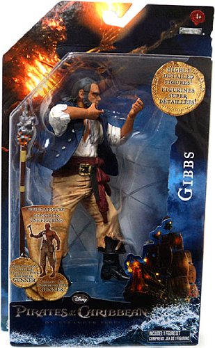 Picture of Jakks Pacific Pirates of the Caribbean On Stranger Tides 6 Inch Series 1 Action Figure Captain Barbossa (B004S51X4K) (Jakks Pacific Action Figures)