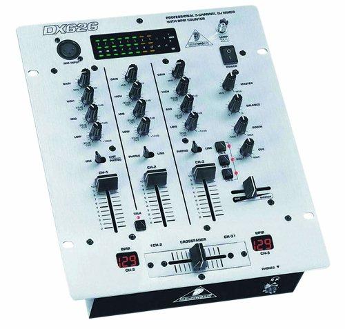 Behringer Dx626 Dj Mixer 3 Channels Mixers Discount