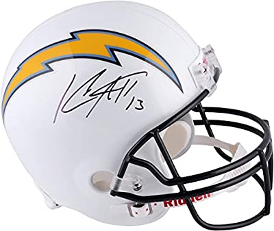 Keenan Allen San Diego Chargers Autographed Riddell Replica Helmet - Fanatics Authentic Certified - Autographed NFL Helmets